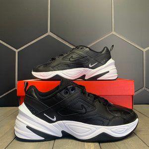 Womens Nike M2K Tekno Black White Running Shoes